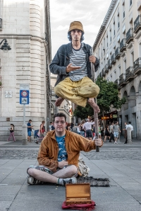 Human Statues of Madrid (1 of 1)