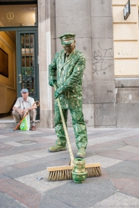 Human Statues of Madrid (1 of 10)