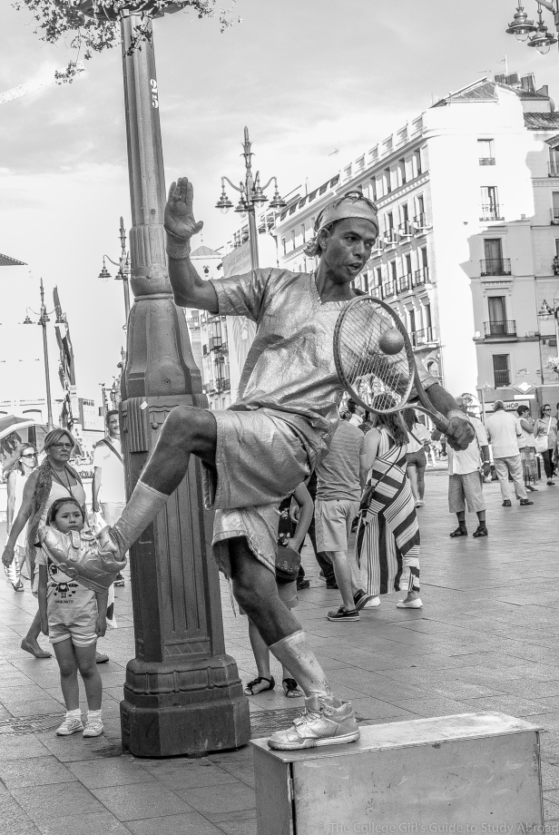 Human Statues of Madrid (6 of 10)