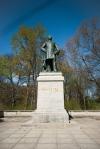 Statue of Prussian Soldier Albrecht von Roon.