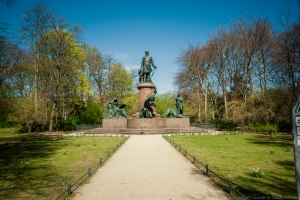 Memorial to Otto Von Bismarck.