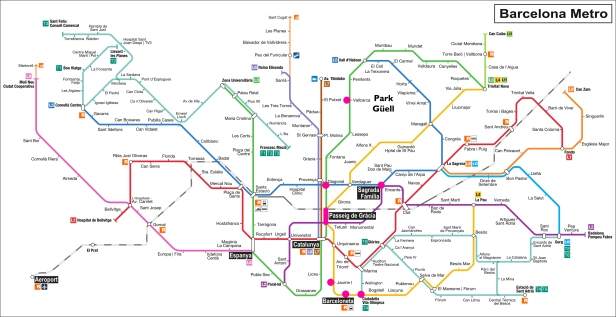 Barcelona Metro Map The College Girl S Guide To Study Abroad