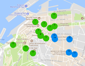 Map Of Spain Vigo.Top 25 Things To Do In Vigo Spain The College Girl S Guide To