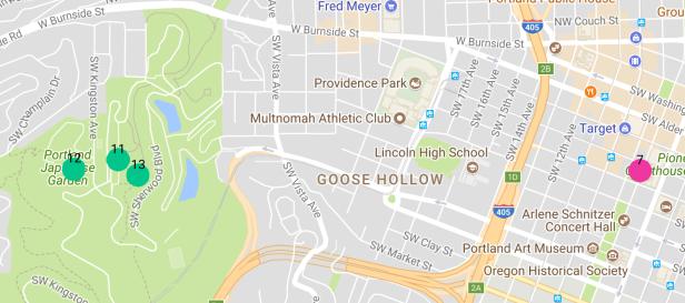 Portland Map Zoom 2